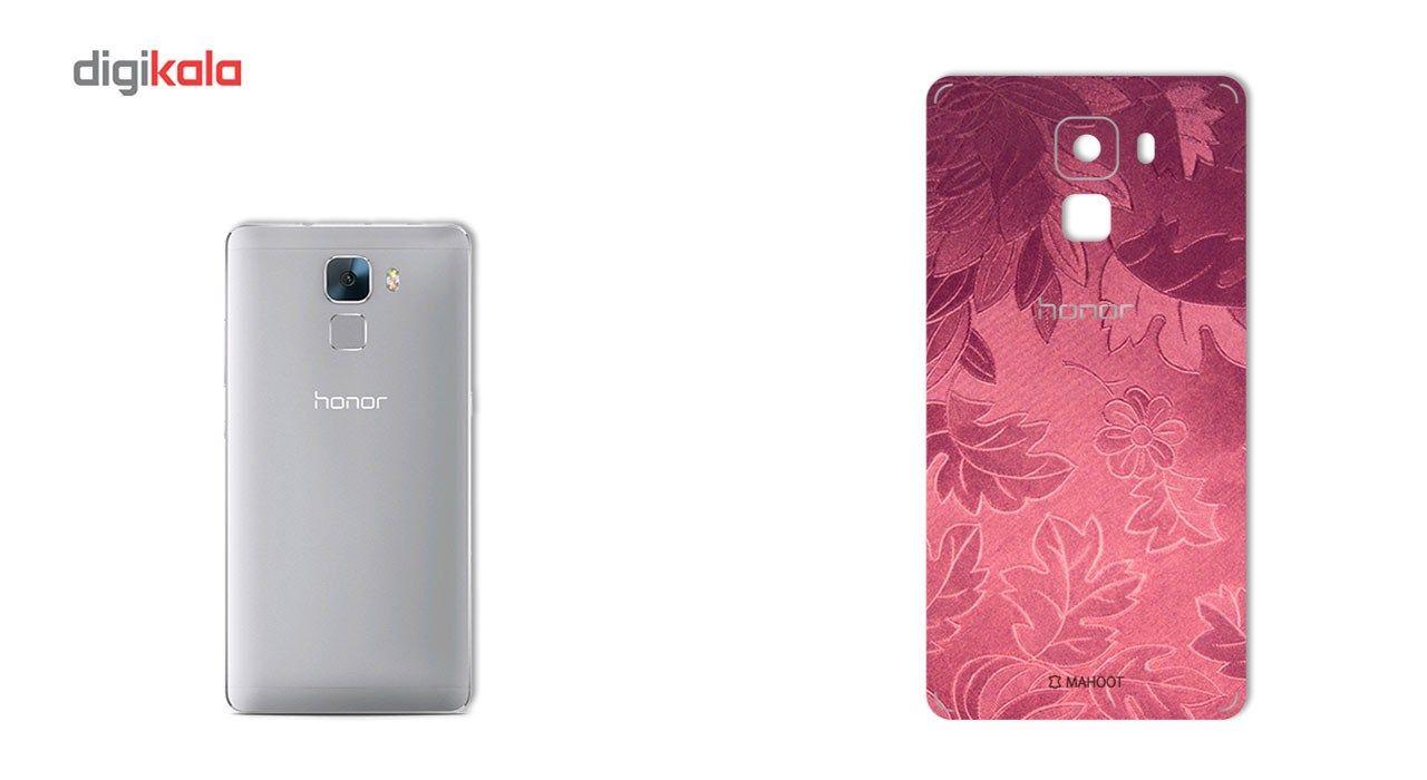 برچسب پوششی ماهوت مدل Wild-flower Texture مناسب برای گوشی  Huawei Honor 7 main 1 2