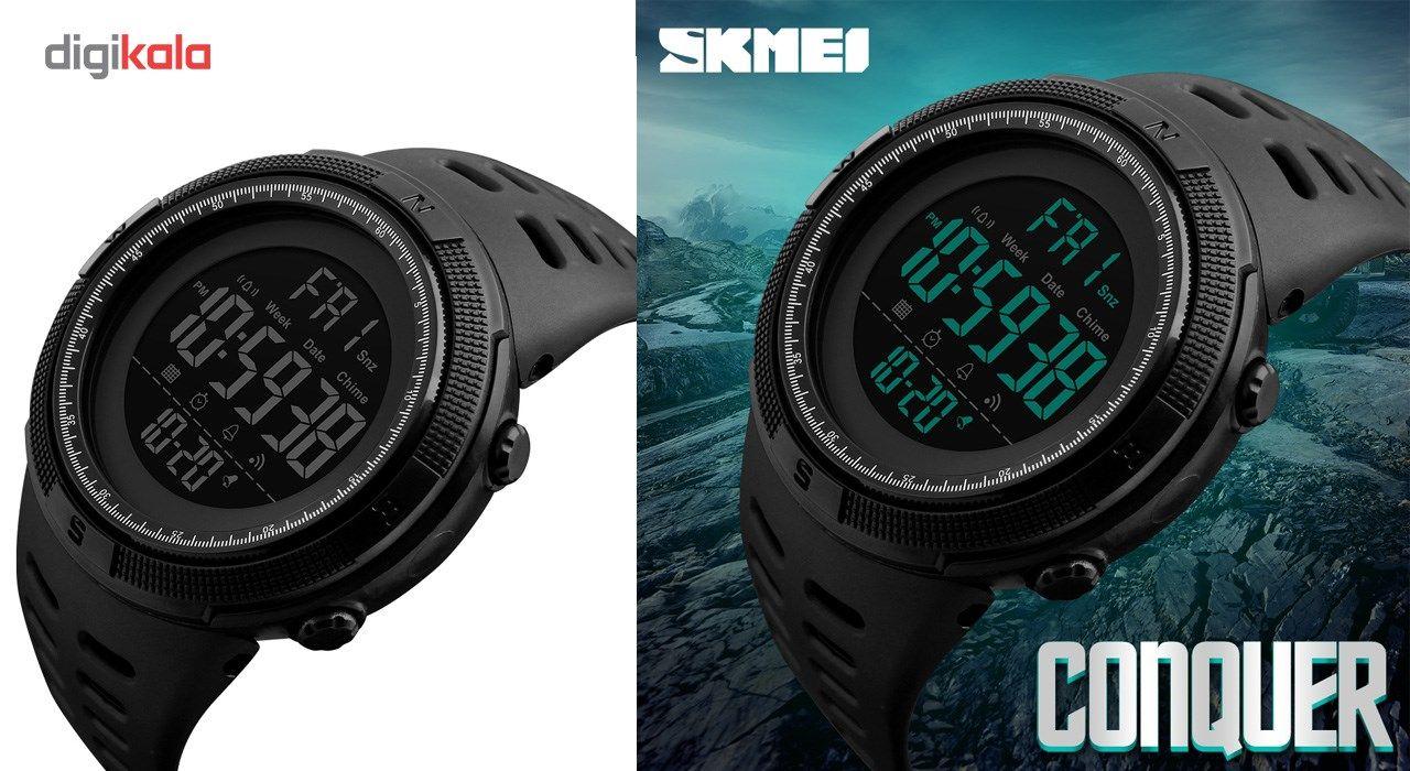 ساعت مچی دیجیتالی مردانه اسکمی مدل 1251 کد01 -  - 3