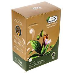 دمنوش گیاهی مخلوط چای سبز و سفید مهرگیاه مقدار 100 گرم