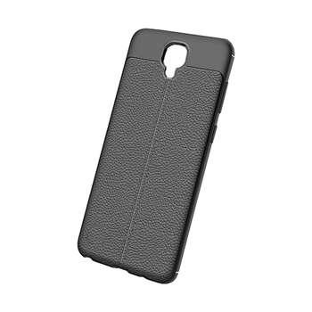 کاور ژله ای طرح چرم مناسب برای گوشی موبایل سامسونگ Galaxy S4