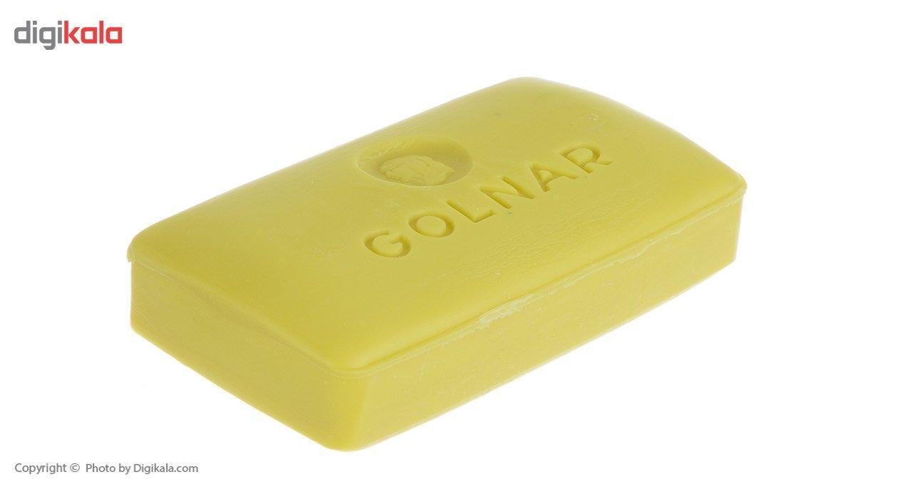 صابون گلنار مدل Coconut oil بسته 6 عددی main 1 4