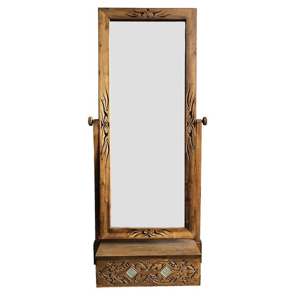 آینه آسوریک مدل منبت کد 2136