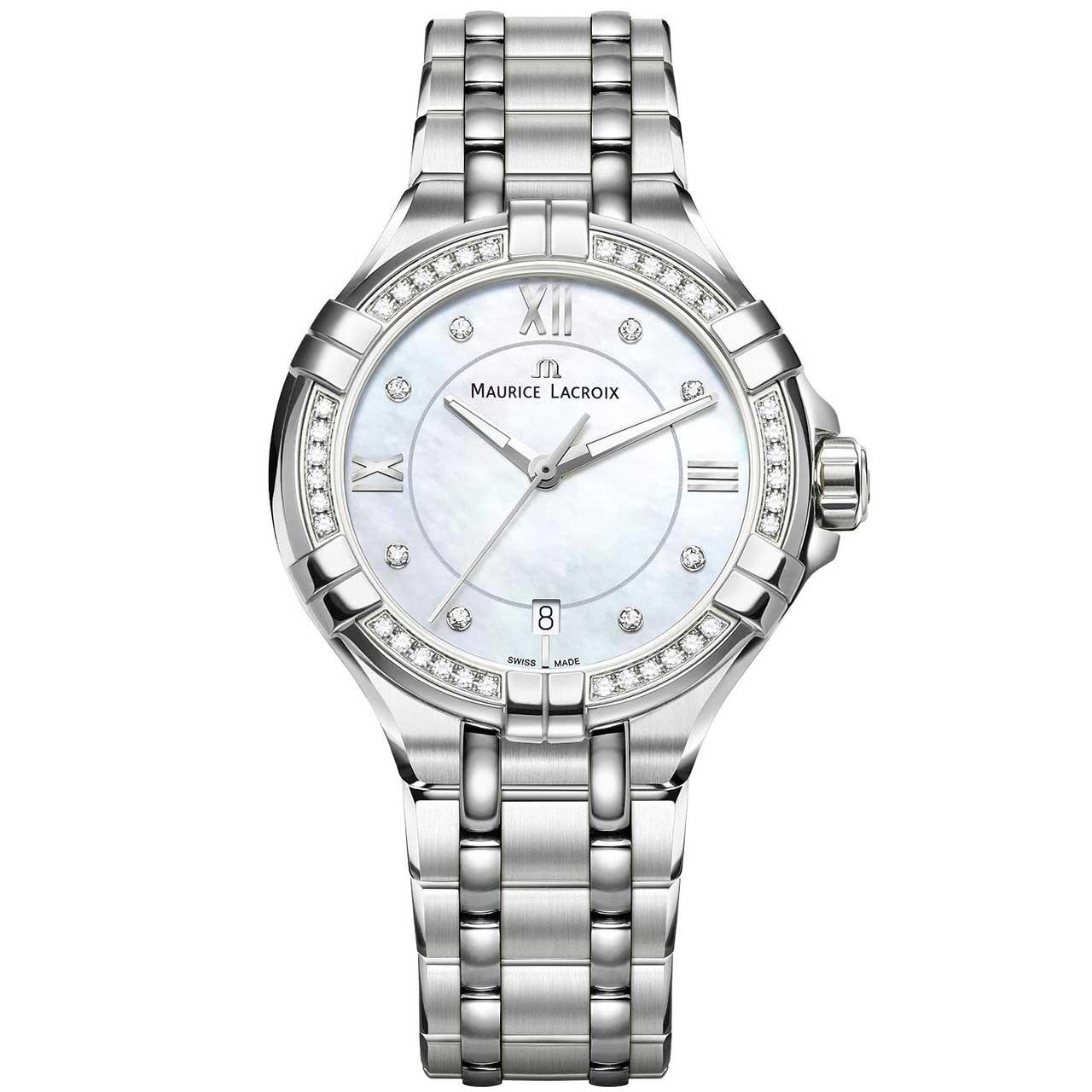 ساعت مچی عقربه ای زنانه موریس لاکروا مدل AI1006-SD502-170-1