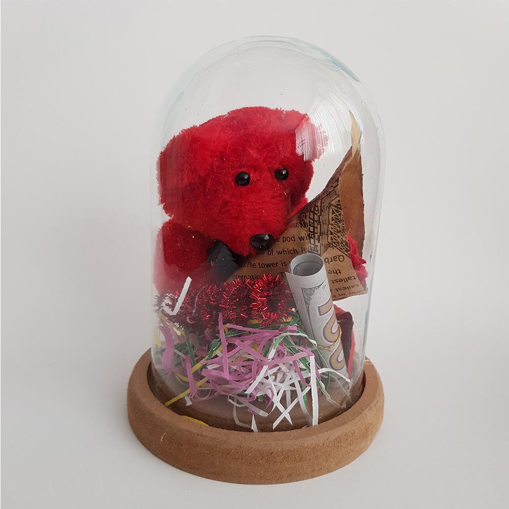 ست هدیه عروسک طرح خرس کد 110