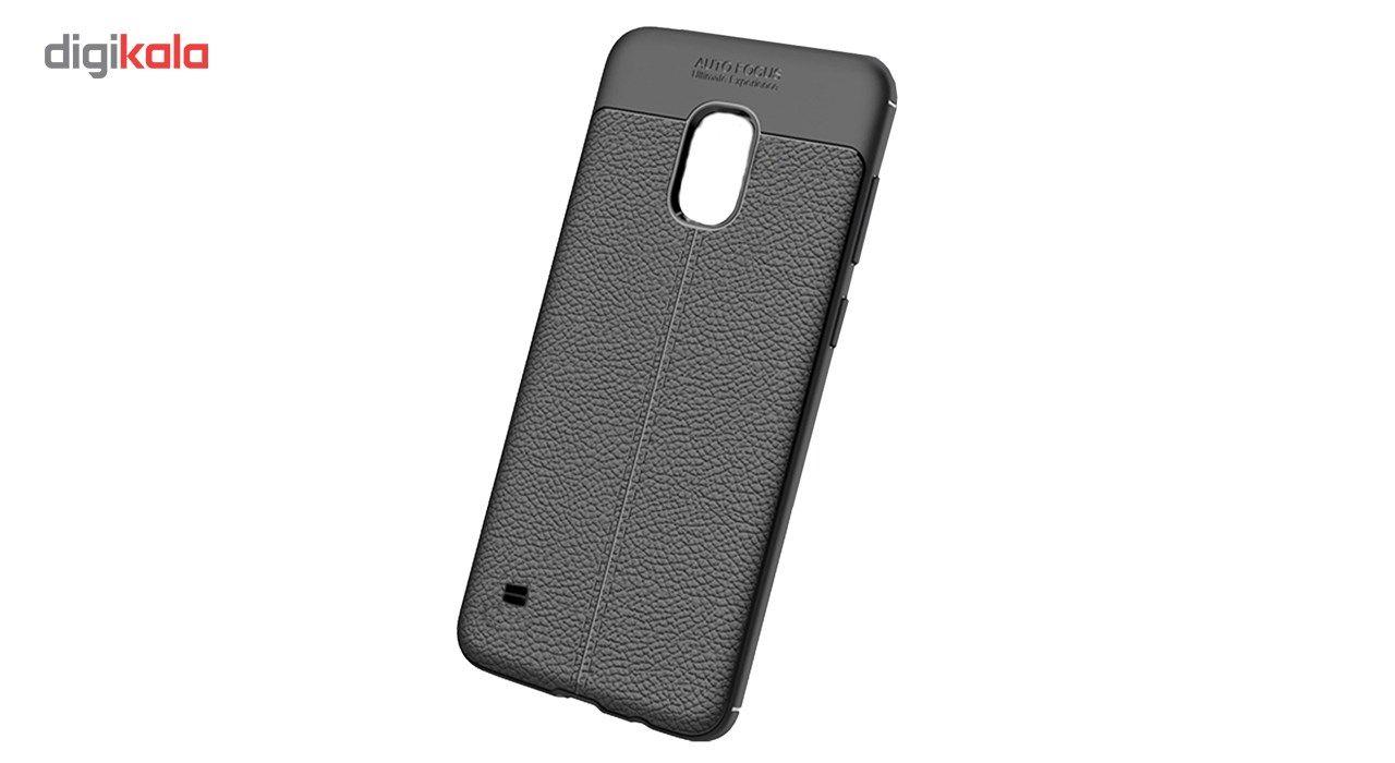 کاور ژله ای طرح چرم مناسب برای گوشی موبایل سامسونگ Galaxy S5 main 1 1