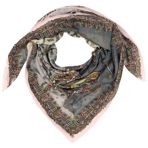 روسری نخی مدل ترنج