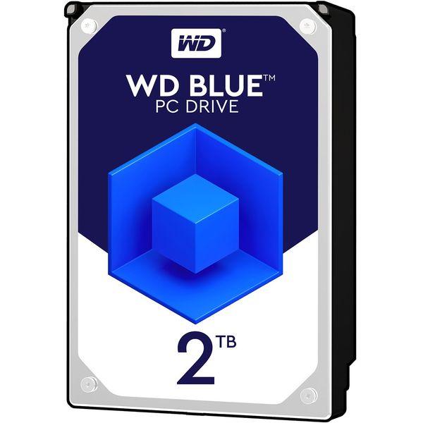 2 عدد هارد وسترن دیجیتال آبی یک ترابایت |