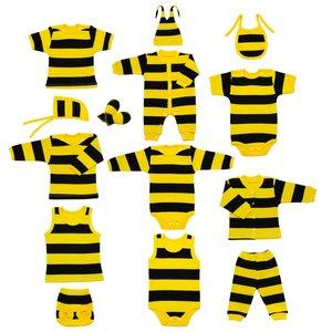 ست 14 تکه لباس نوزادی مدل زنبور