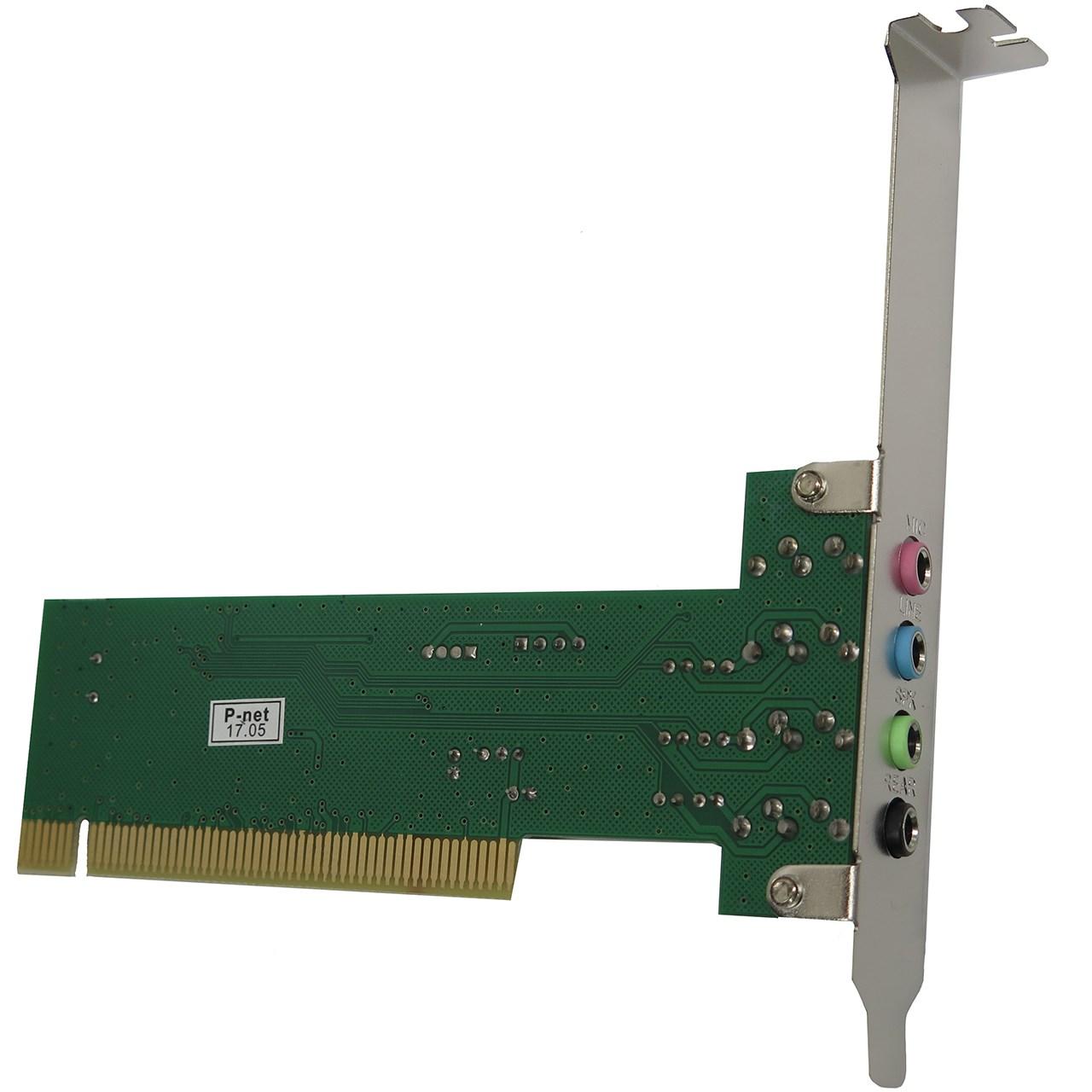 کارت صدا پی-نت مدل PCI SATA CARD