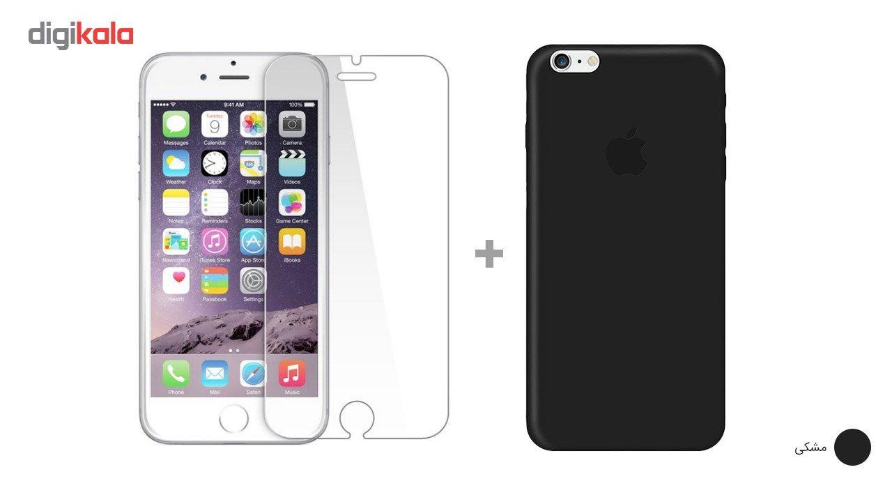 کاور کوالا مدل سیلیکونی مناسب برای گوشی موبایل اپل آیفون 6Plus/6S Plus به همراه محافظ صفحه نمایش main 1 6