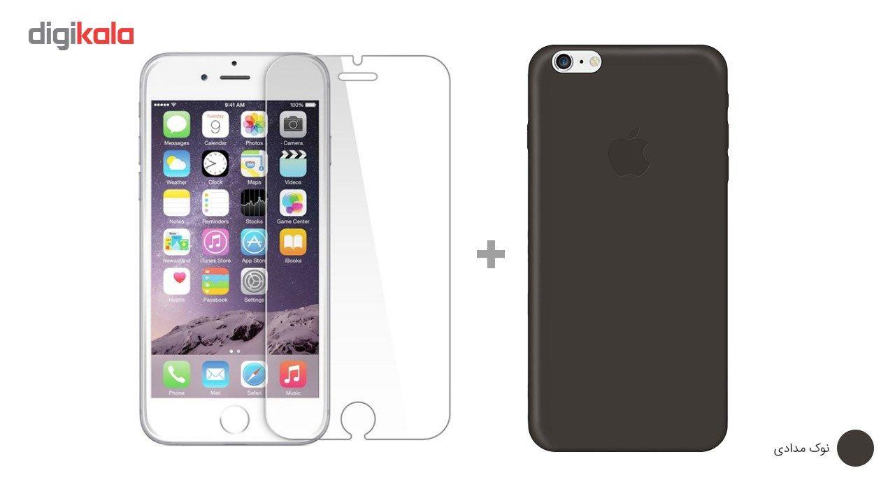 کاور کوالا مدل سیلیکونی مناسب برای گوشی موبایل اپل آیفون 6Plus/6S Plus به همراه محافظ صفحه نمایش main 1 7