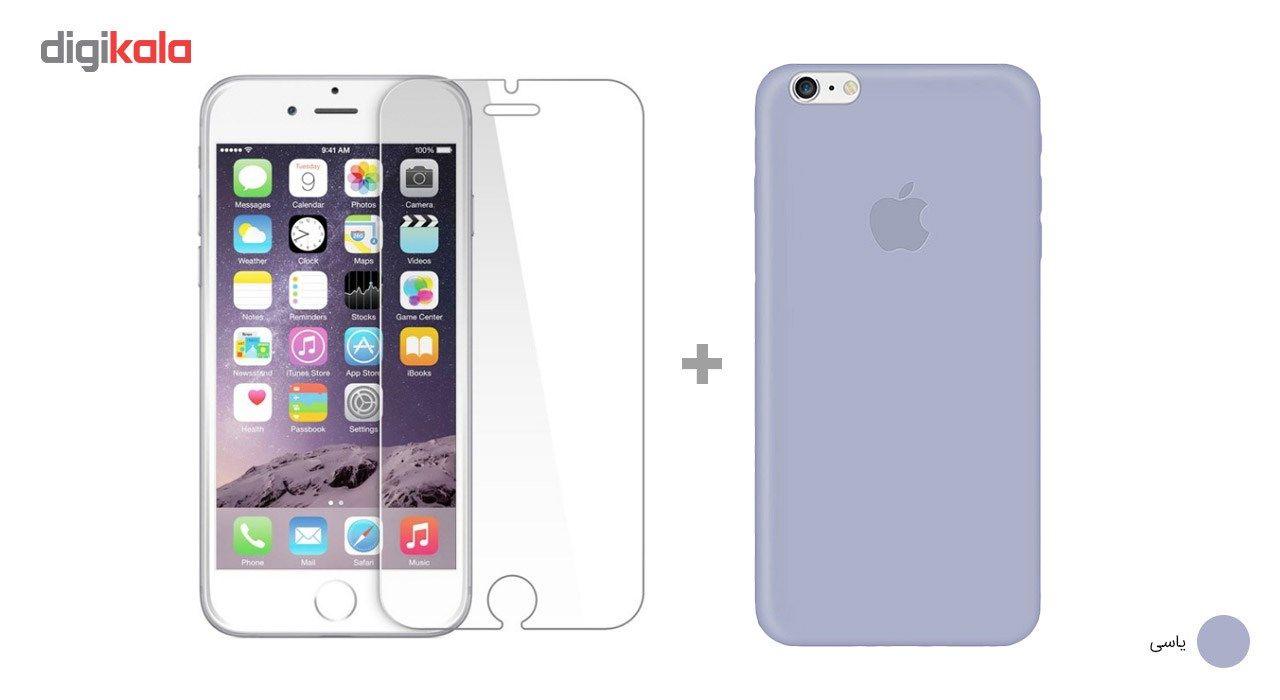 کاور کوالا مدل سیلیکونی مناسب برای گوشی موبایل اپل آیفون 6Plus/6S Plus به همراه محافظ صفحه نمایش main 1 11