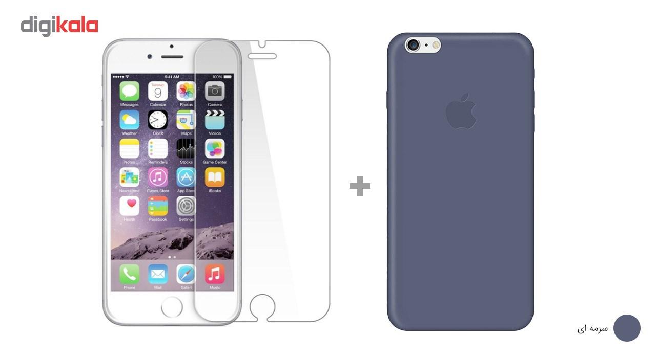 کاور کوالا مدل سیلیکونی مناسب برای گوشی موبایل اپل آیفون 6Plus/6S Plus به همراه محافظ صفحه نمایش main 1 12