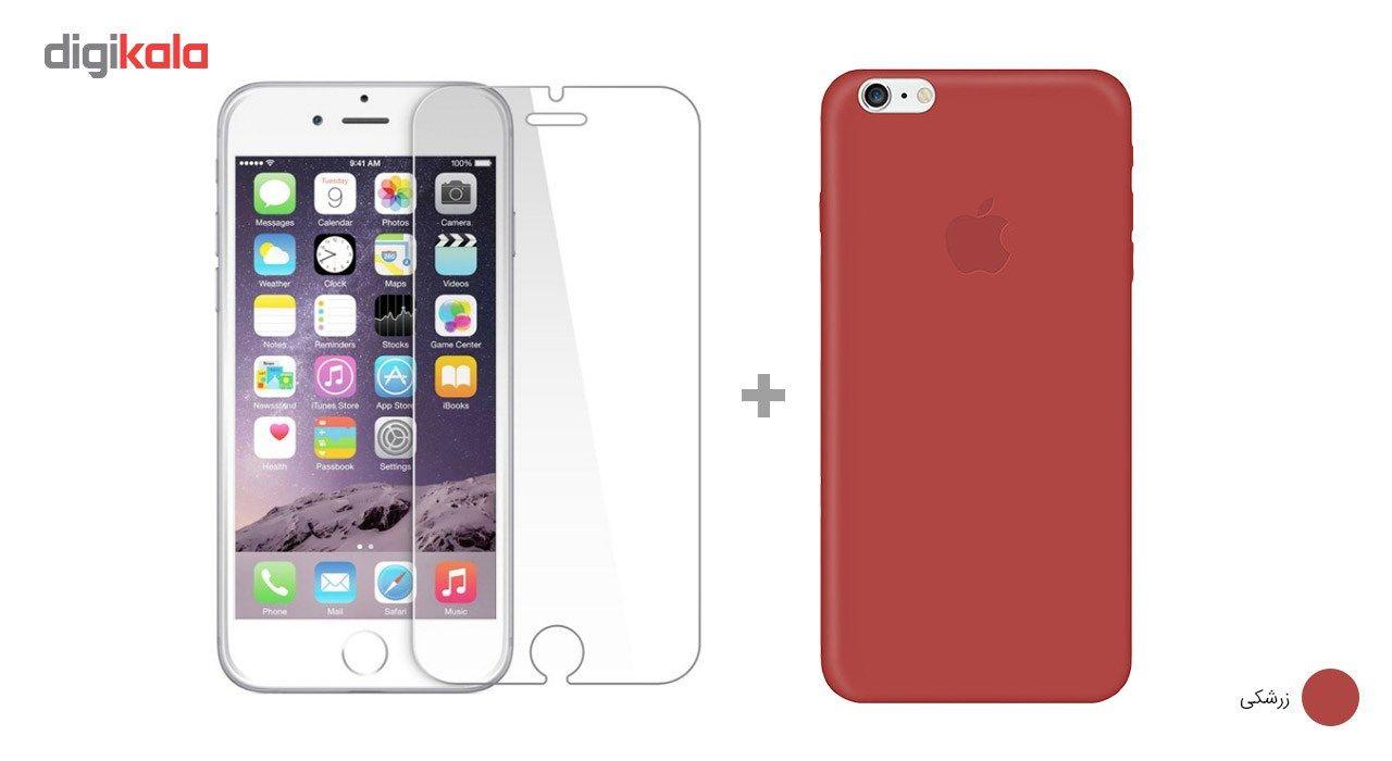 کاور کوالا مدل سیلیکونی مناسب برای گوشی موبایل اپل آیفون 6Plus/6S Plus به همراه محافظ صفحه نمایش main 1 15