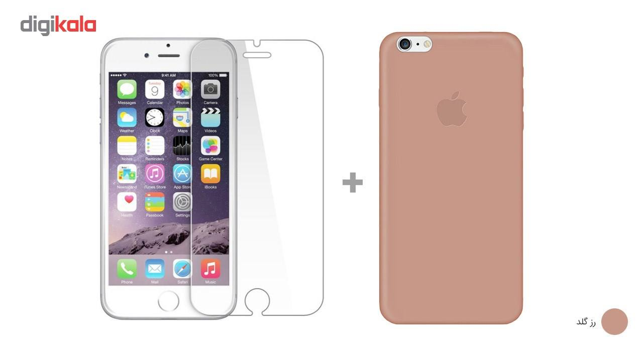 کاور کوالا مدل سیلیکونی مناسب برای گوشی موبایل اپل آیفون 6Plus/6S Plus به همراه محافظ صفحه نمایش main 1 16