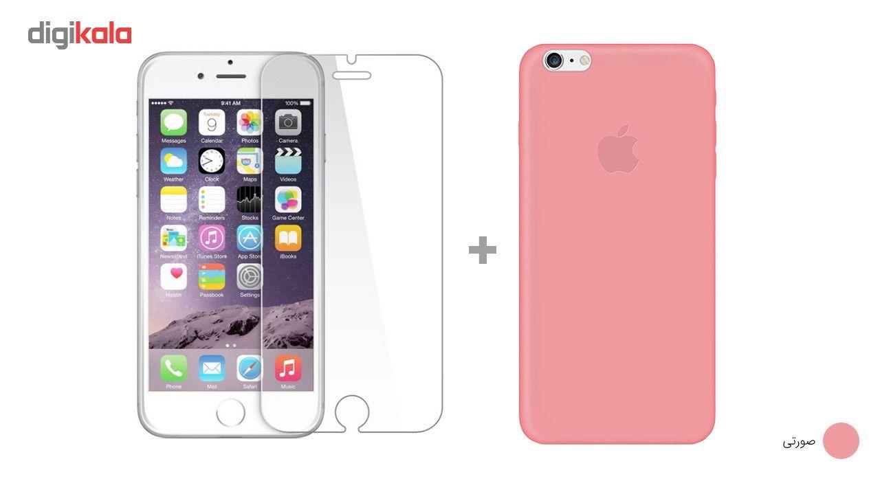 کاور کوالا مدل سیلیکونی مناسب برای گوشی موبایل اپل آیفون 6Plus/6S Plus به همراه محافظ صفحه نمایش main 1 19