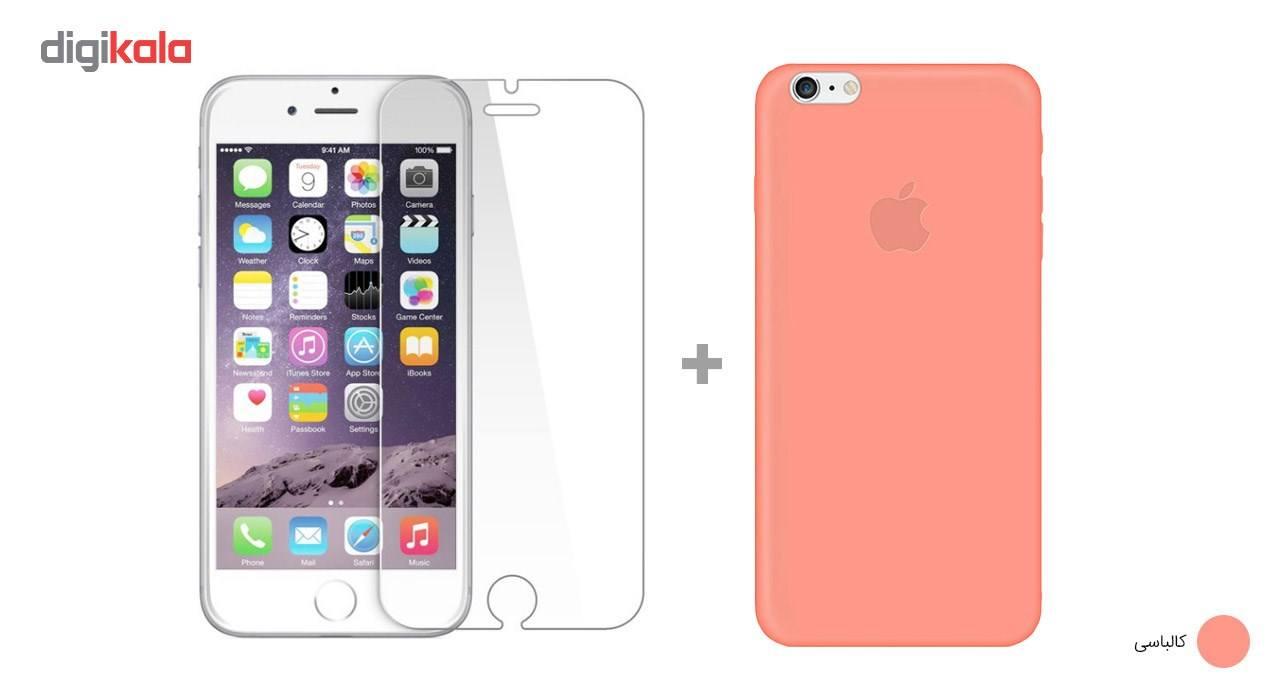 کاور کوالا مدل سیلیکونی مناسب برای گوشی موبایل اپل آیفون 6Plus/6S Plus به همراه محافظ صفحه نمایش main 1 20