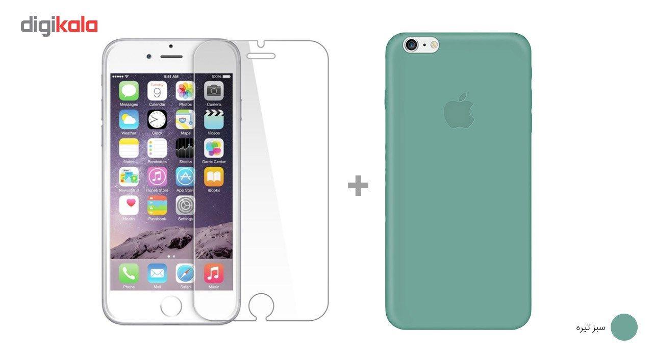 کاور کوالا مدل سیلیکونی مناسب برای گوشی موبایل اپل آیفون 6Plus/6S Plus به همراه محافظ صفحه نمایش main 1 23