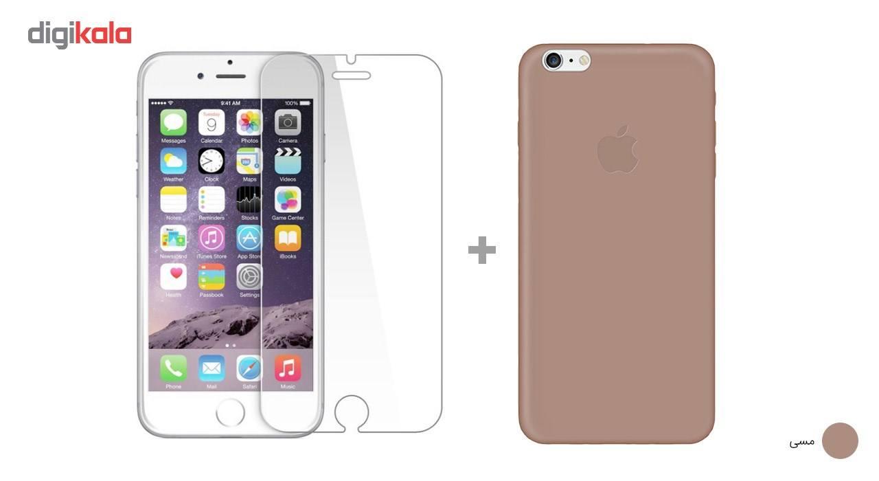 کاور کوالا مدل سیلیکونی مناسب برای گوشی موبایل اپل آیفون 6Plus/6S Plus به همراه محافظ صفحه نمایش main 1 27