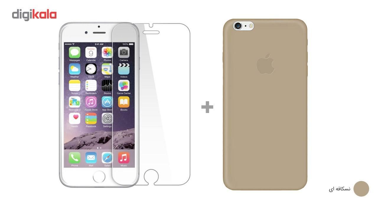 کاور کوالا مدل سیلیکونی مناسب برای گوشی موبایل اپل آیفون 6Plus/6S Plus به همراه محافظ صفحه نمایش main 1 28