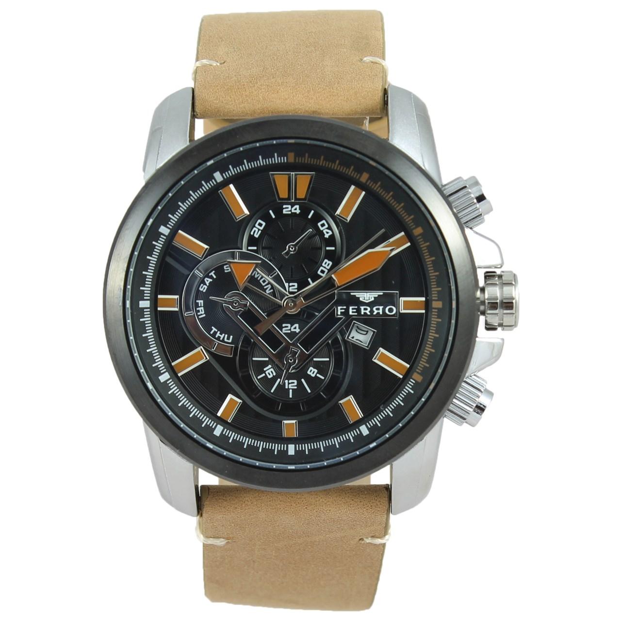 ساعت مچی عقربه ای مردانه فرو مدل F61518-593-J