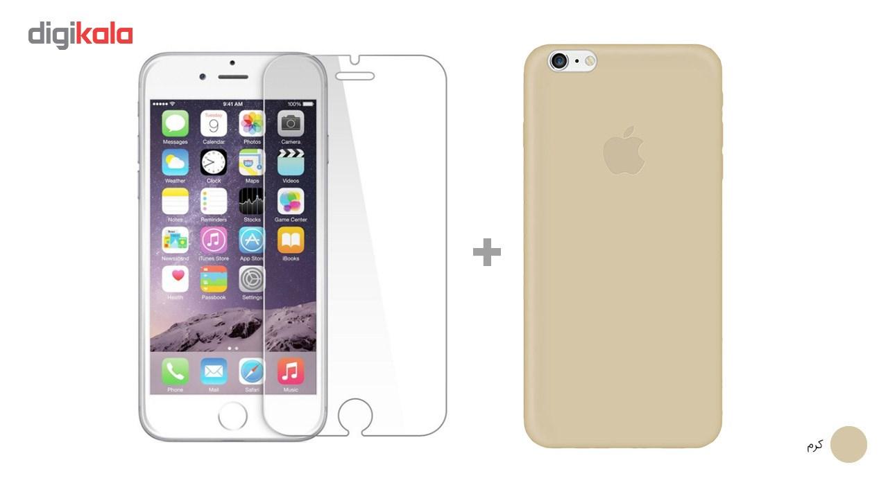 کاور کوالا مدل سیلیکونی مناسب برای گوشی موبایل اپل آیفون 6Plus/6S Plus به همراه محافظ صفحه نمایش main 1 29