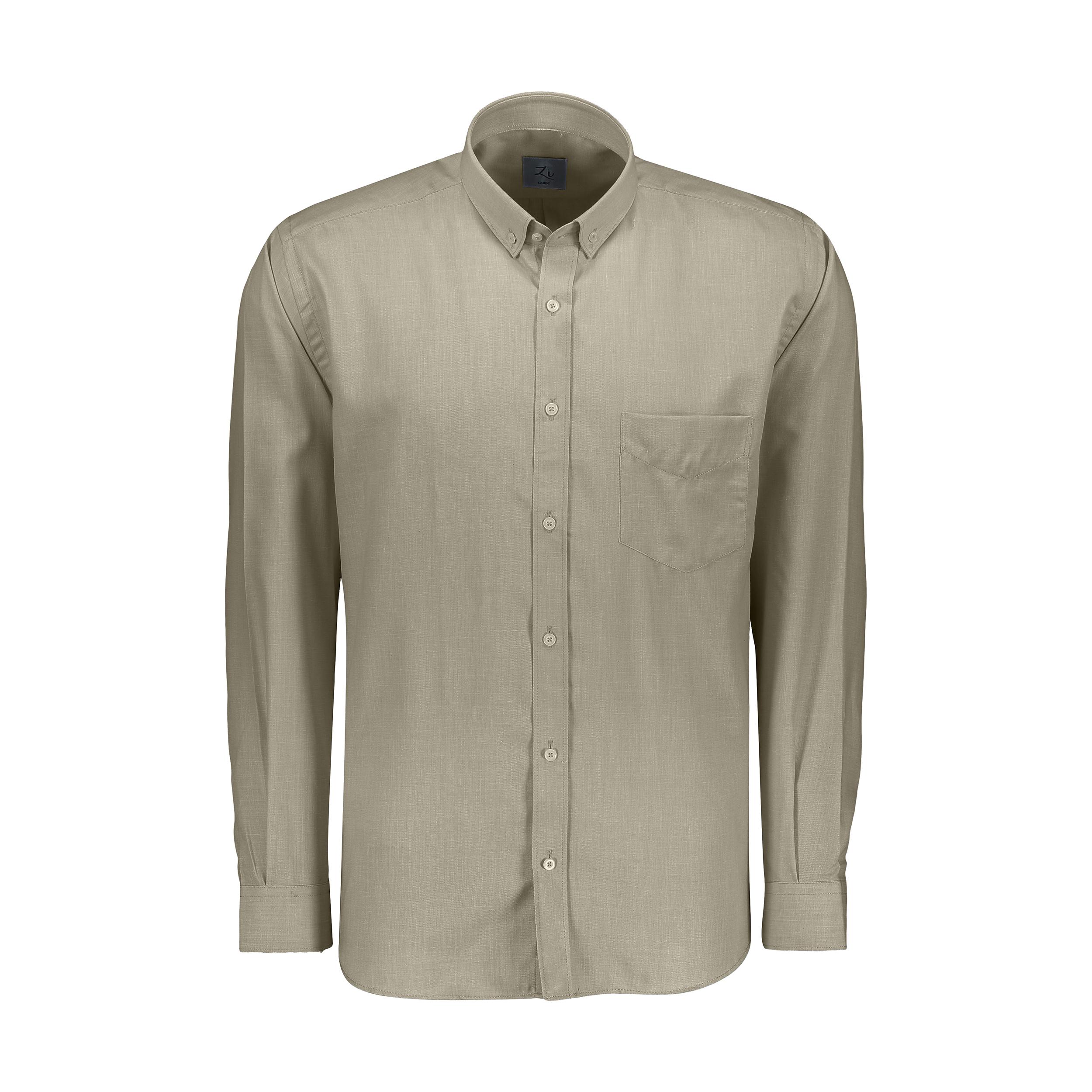 پیراهن آستین بلند مردانه زی مدل 153140507