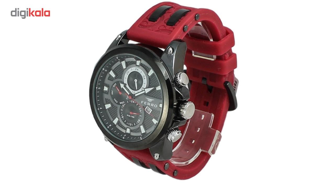 ساعت عقربه ای مردانه فرو مدل F61532-576-G