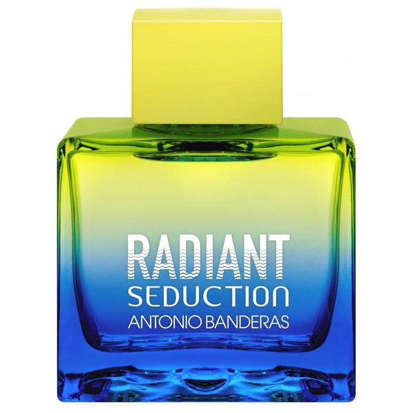 تستر ادو تویلت مردانه آنتونیو باندراس مدل Radiant Seduction Blue حجم 100 میلی لیتر