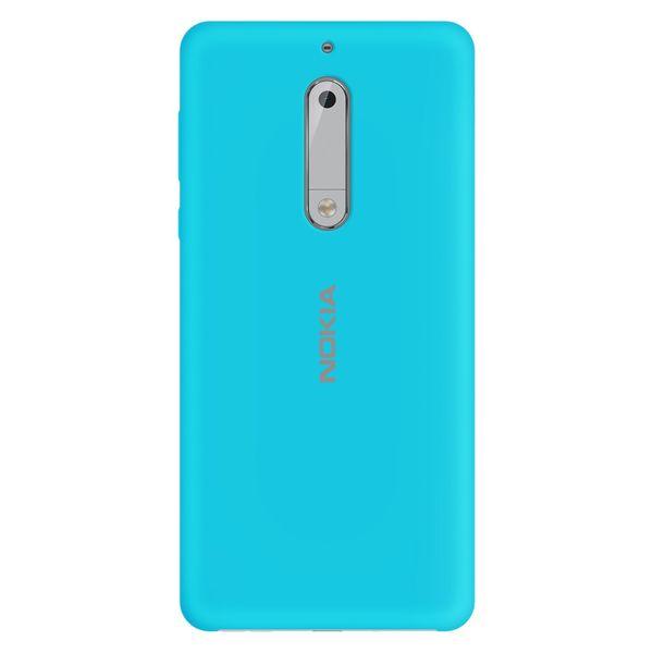 کاور سیلیکونی مناسب برای گوشی موبایل نوکیا 5