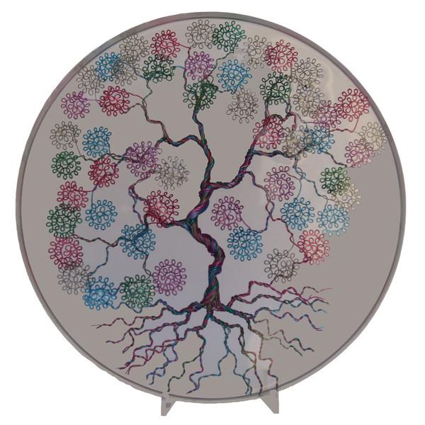 تابلو طرح درخت مدل 1001