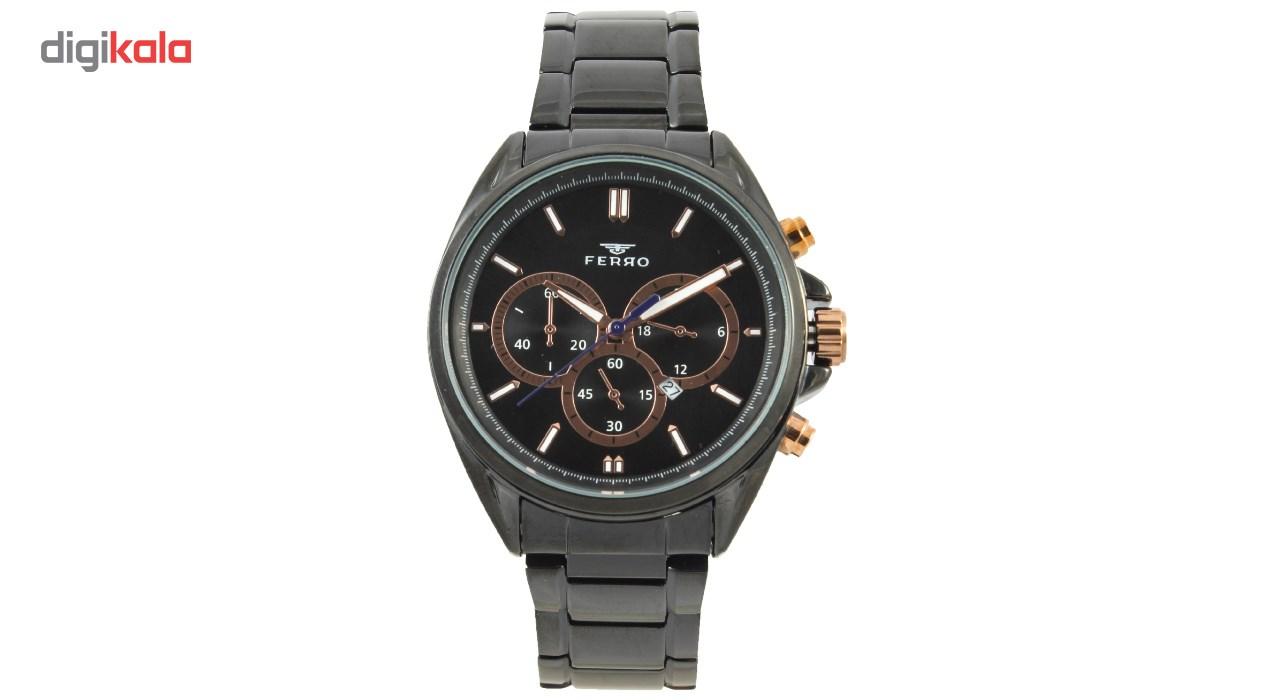 خرید ساعت مچی عقربه ای مردانه فرو مدل F61537-561-G