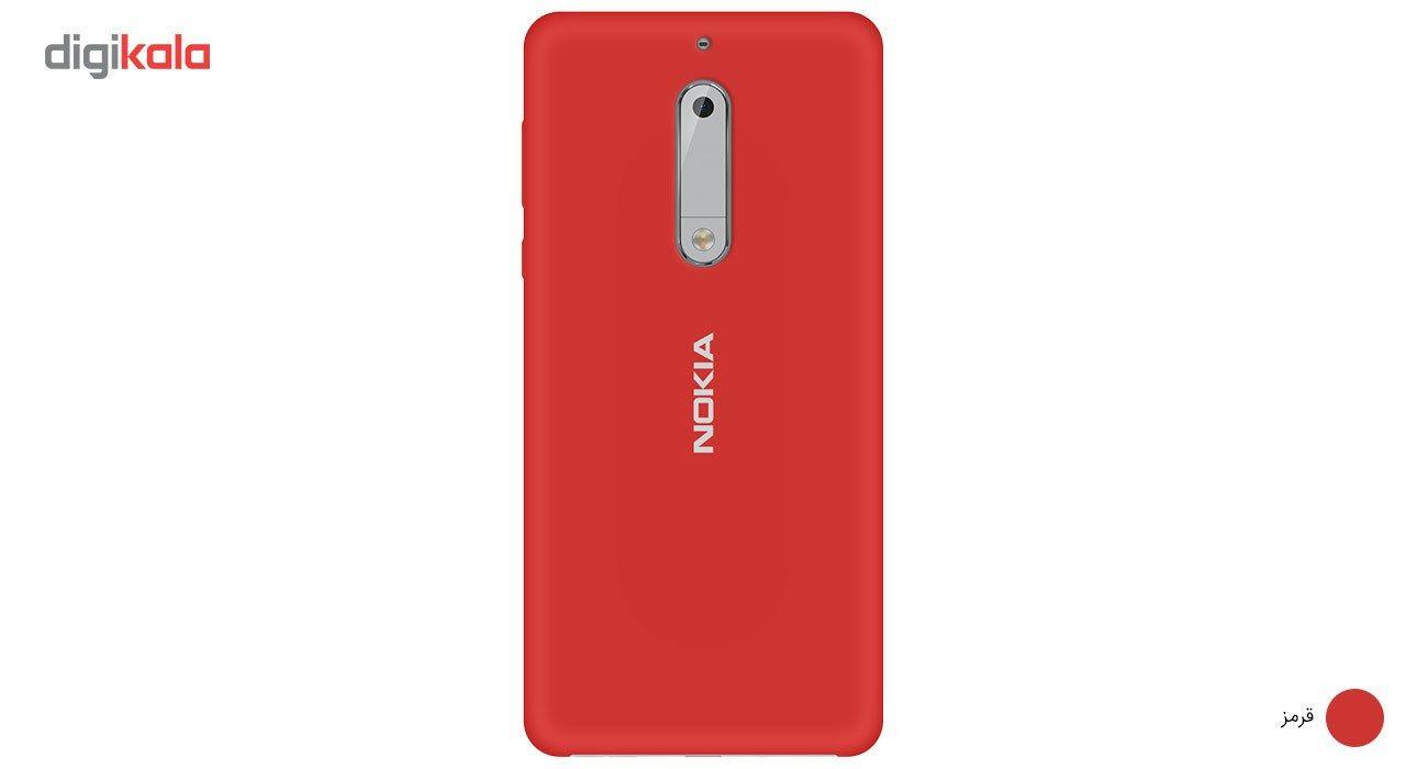 کاور سیلیکونی مناسب برای گوشی موبایل نوکیا 5 main 1 1