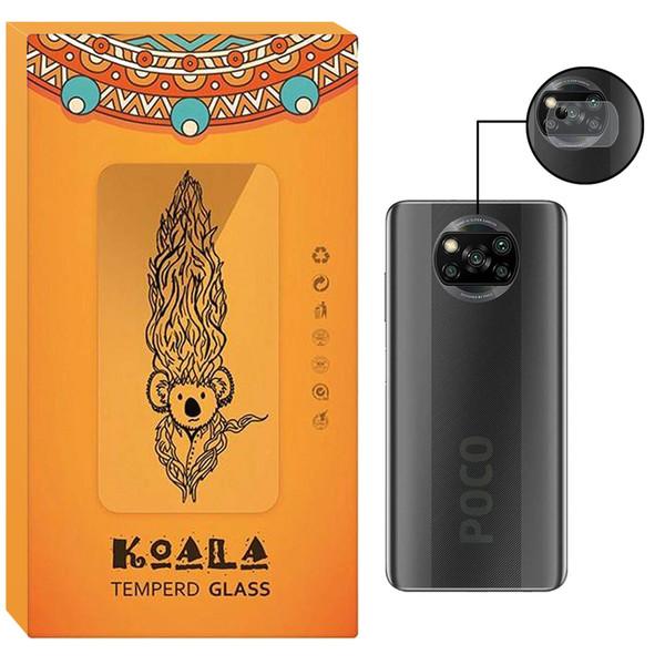محافظ لنز دوربین کوالا مدل LNZ-SD مناسب برای گوشی موبایل شیائومی Poco X3 NFC