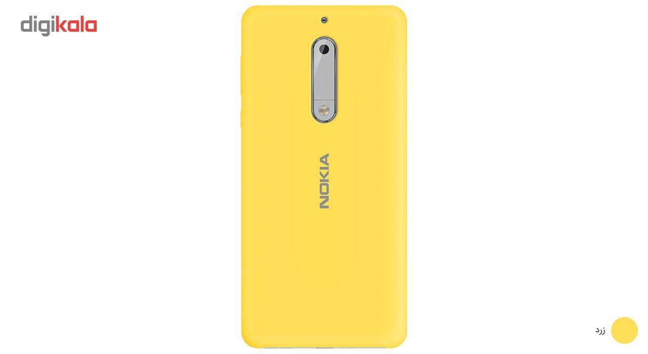 کاور سیلیکونی مناسب برای گوشی موبایل نوکیا 5 main 1 3