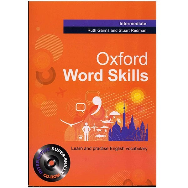 کتاب زبان Oxford Word Skills Intermediate اثر Ruth Gairns