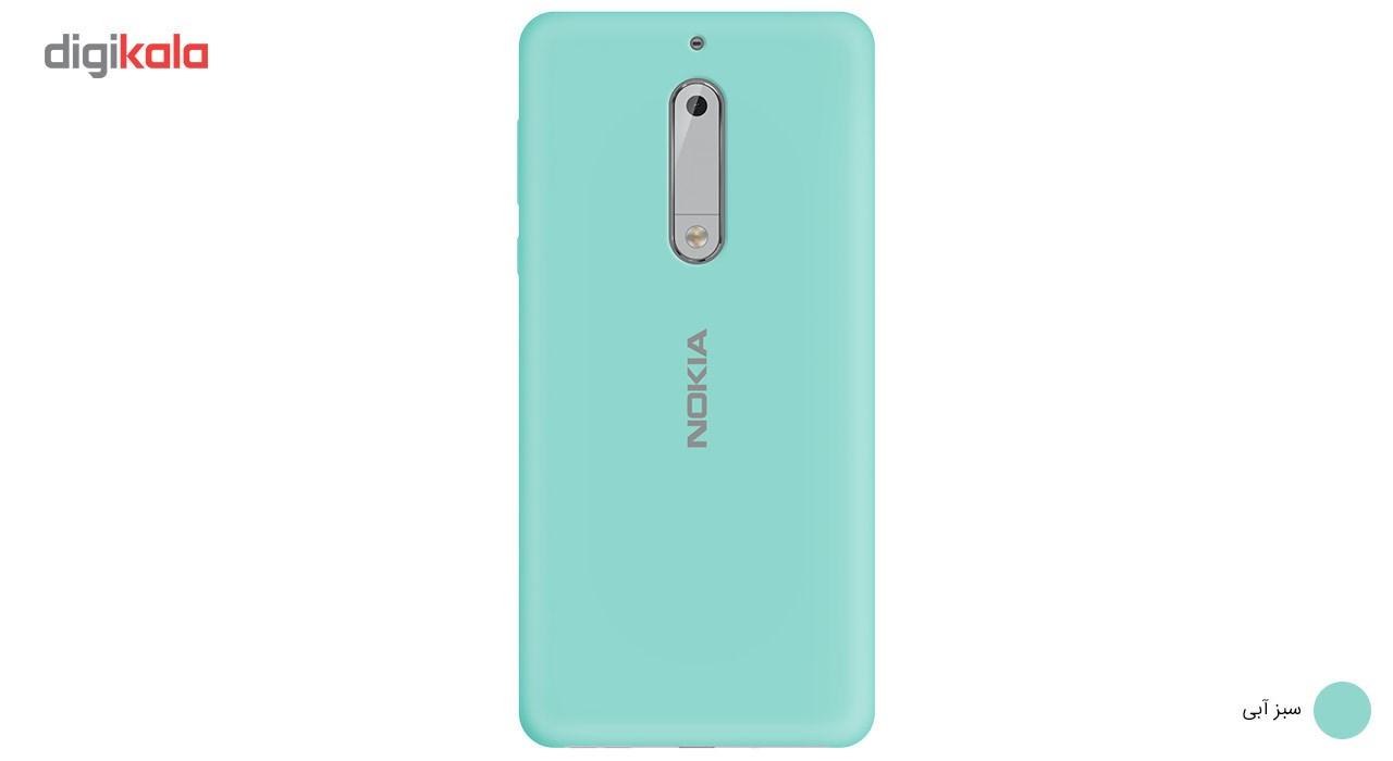کاور سیلیکونی مناسب برای گوشی موبایل نوکیا 5 main 1 4