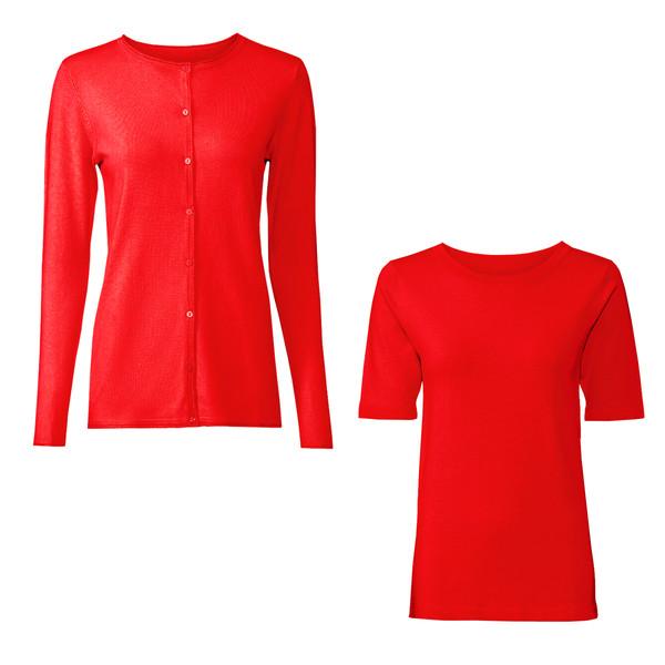 ست تی شرت و ژاکت زنانه اسمارا مدل 307937