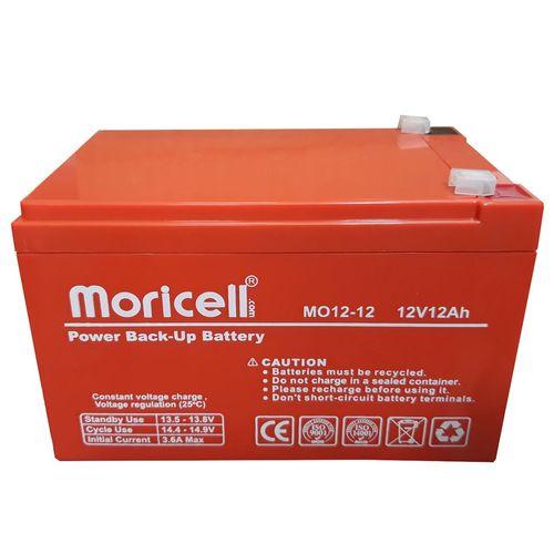 باتری 12 ولت 12آمپر  موریسل مدل 1212