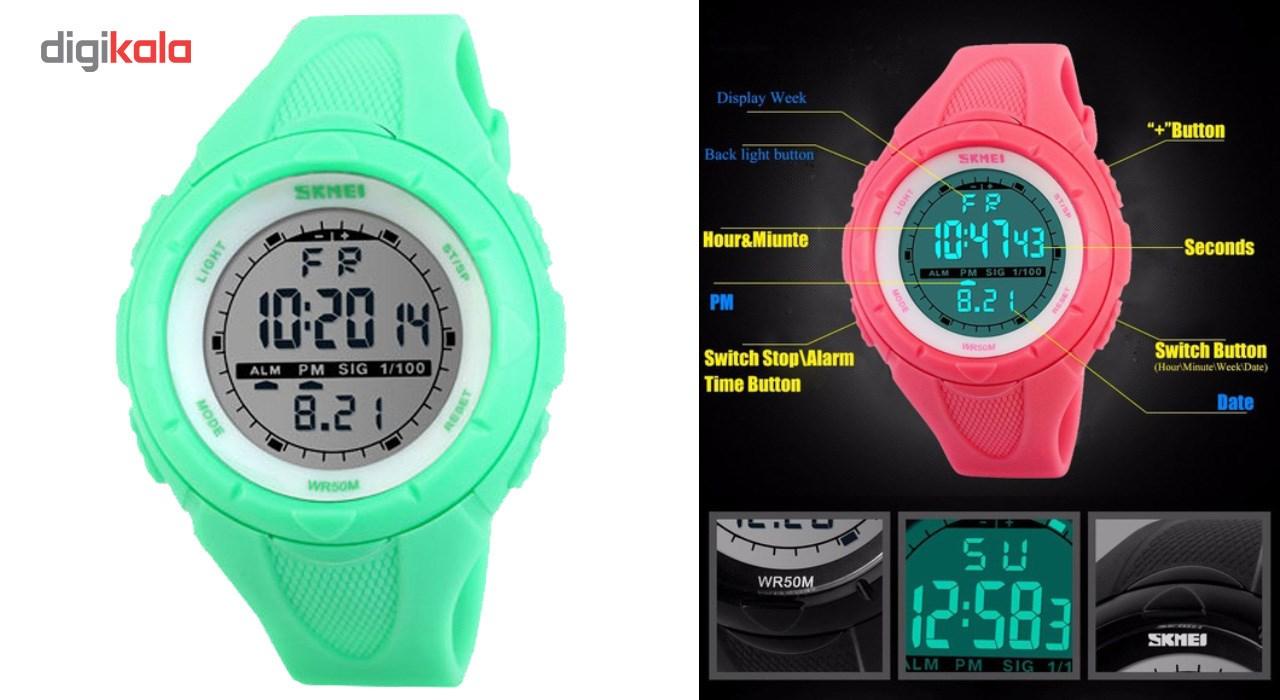 ساعت مچی دیجیتال زنانه اسکمی مدل 1074