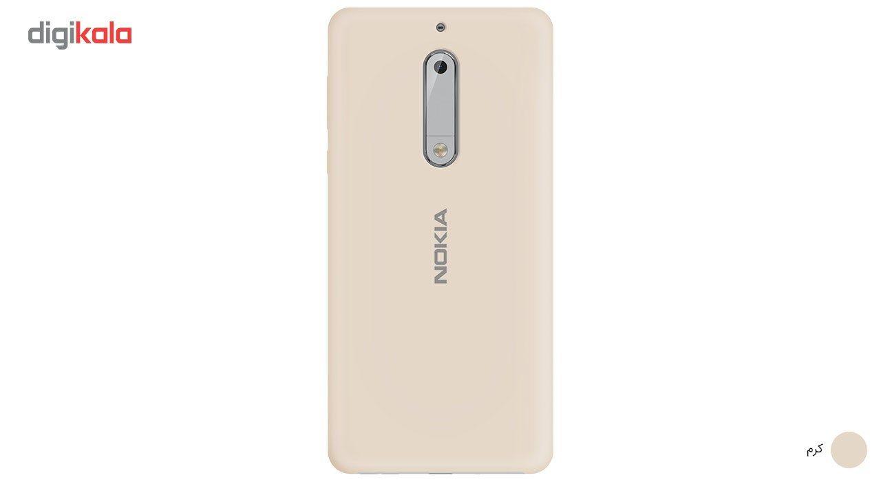 کاور سیلیکونی مناسب برای گوشی موبایل نوکیا 5 main 1 7