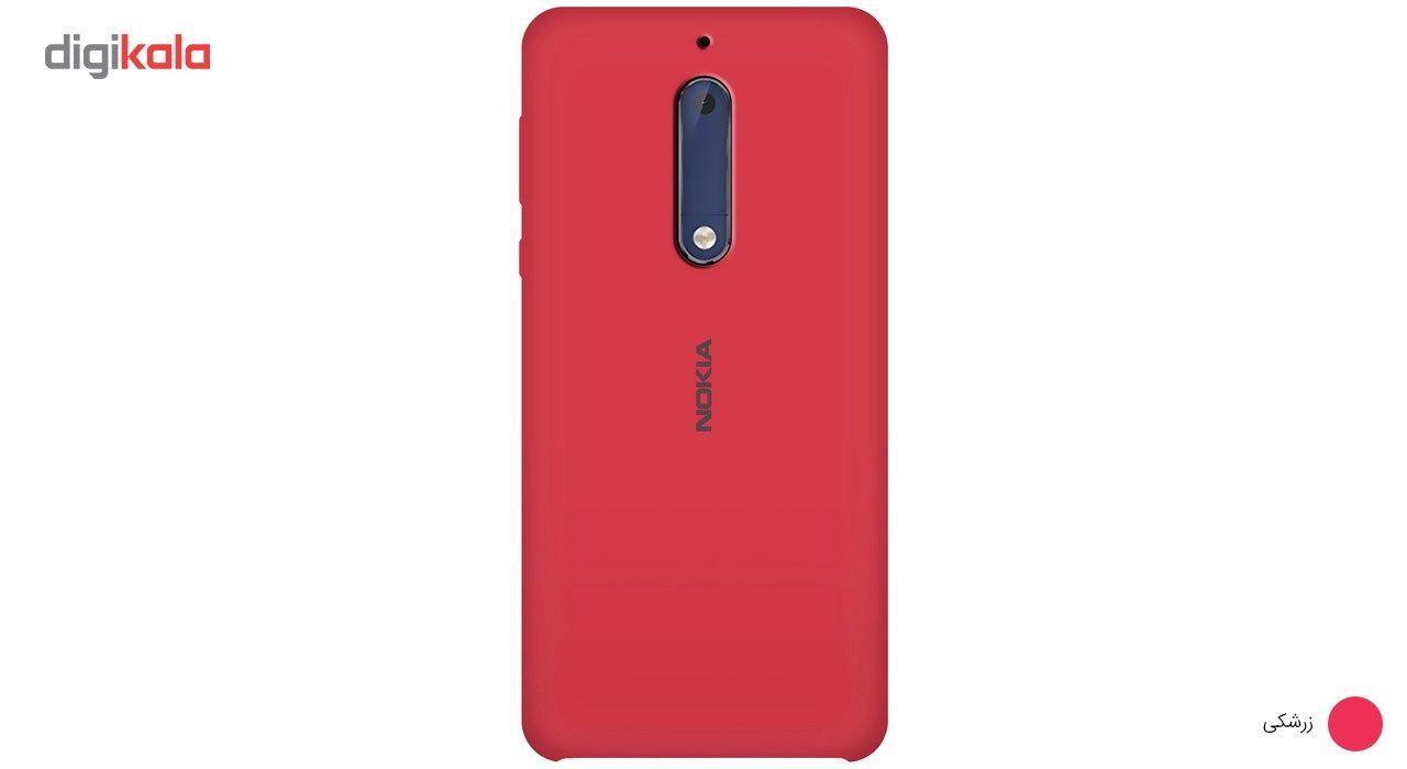 کاور سیلیکونی مناسب برای گوشی موبایل نوکیا 5 main 1 9