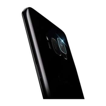 محافظ لنز دوربین شیشه ای مدل تمپرد مناسب برای گوشی موبایل سامسونگ S8 Plus