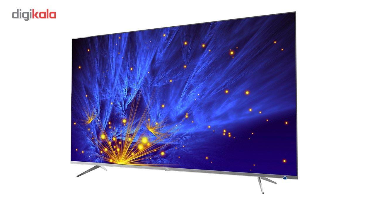 تلویزیون ال ای دی هوشمند تی سی ال مدل 50P6US سایز 50 اینچ