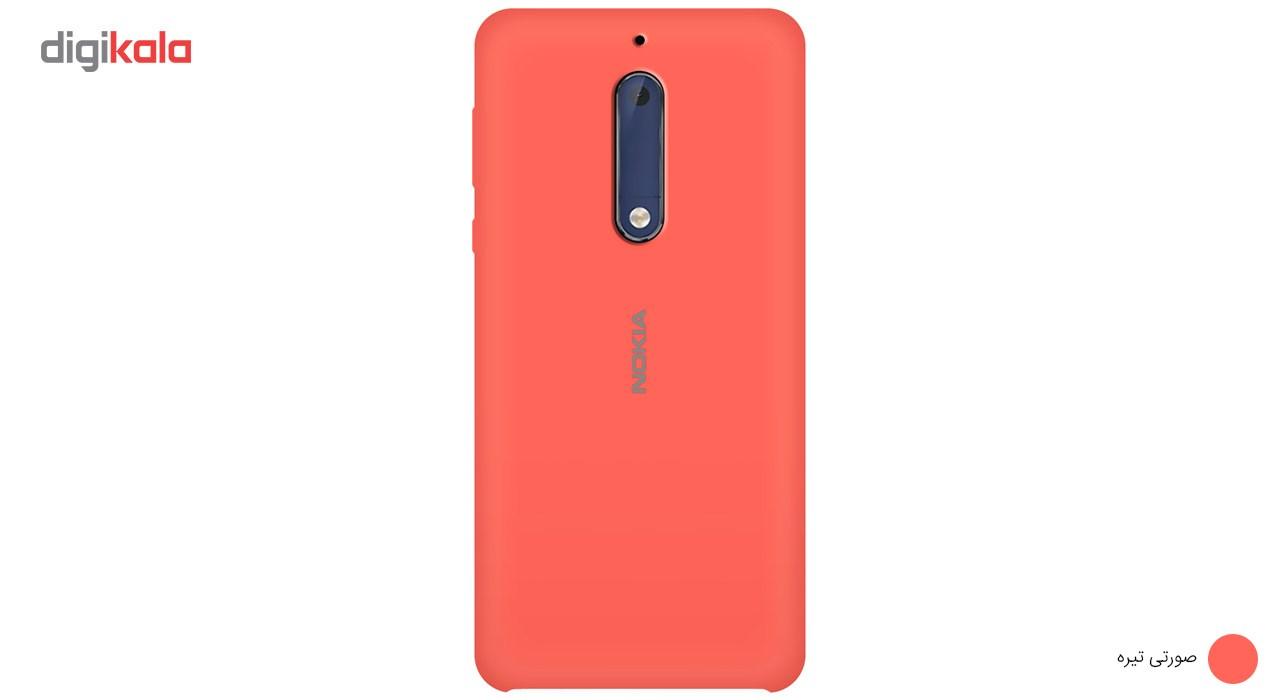 کاور سیلیکونی مناسب برای گوشی موبایل نوکیا 5 main 1 11