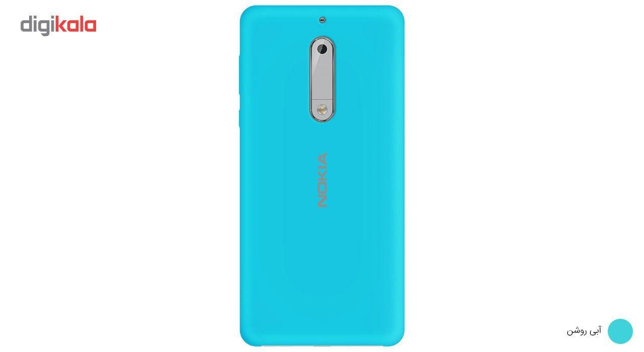 کاور سیلیکونی مناسب برای گوشی موبایل نوکیا 5 main 1 12