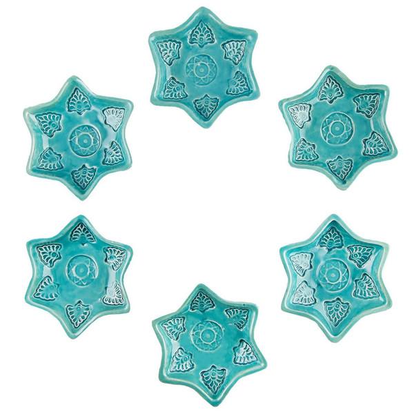 ظروف سفالی گالری آسوریک کد 86108 مجموعه شش عددی