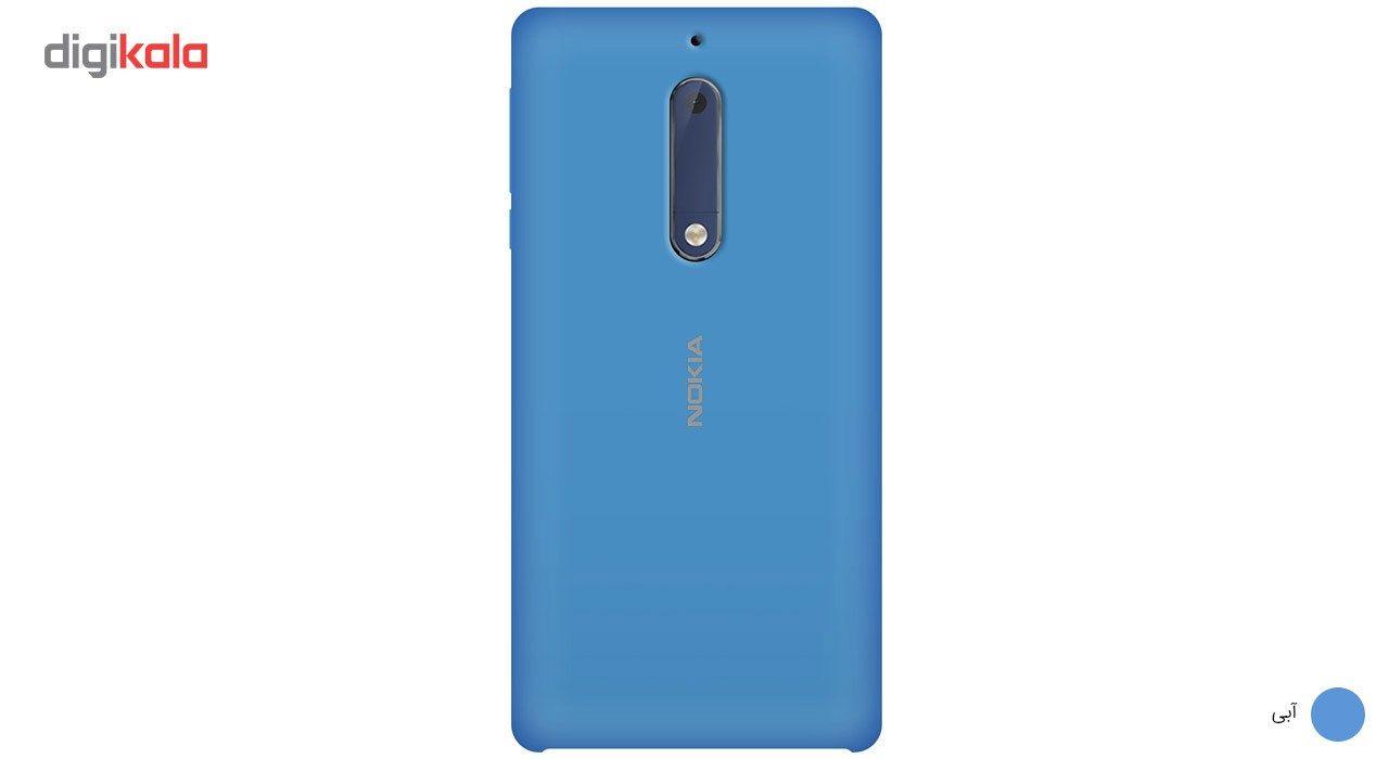 کاور سیلیکونی مناسب برای گوشی موبایل نوکیا 5 main 1 13