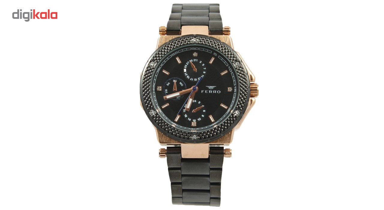 خرید ساعت مچی عقربه ای مردانه فرو مدل F61514-565-R