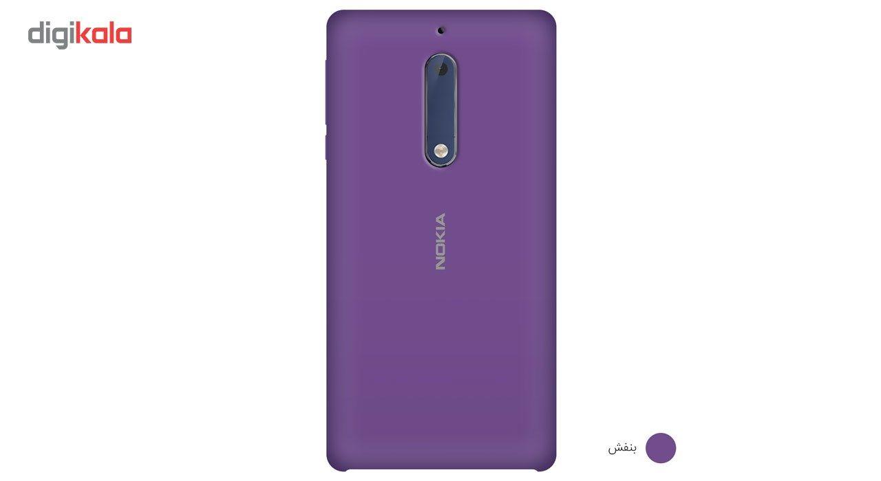کاور سیلیکونی مناسب برای گوشی موبایل نوکیا 5 main 1 14